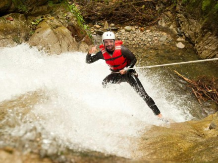 river trekking garda survival experience riva del garda