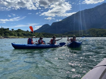 Garda Survival Experience Canoa Trekking River Trekking Addio al Celibato 2 Corso di Canoa