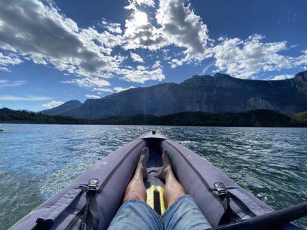 Garda Survival Experience Canoa Trekking River Trekking Addio al Celibato Corso di Canoa Lago di Cavedine 3